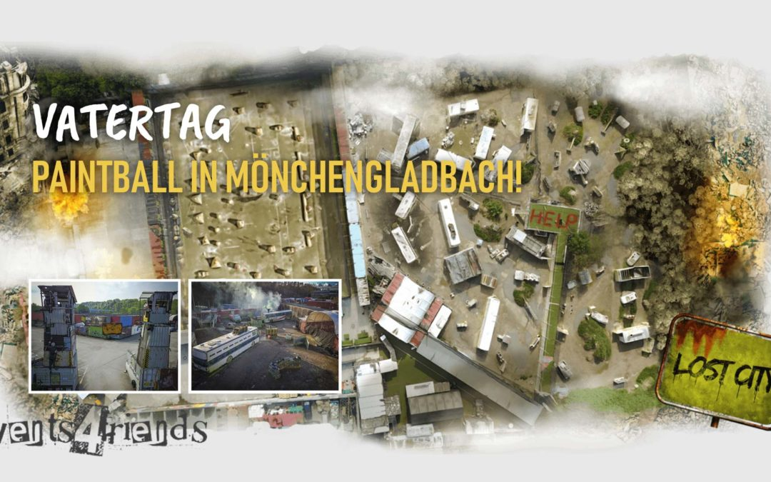 Vatertag – Paintball in Mönchengladbach